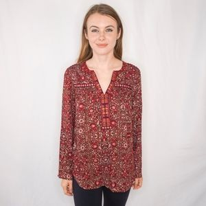One September Anthropologie Mataura Blouse 0477